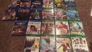 Brand new PS4 and Xbox games