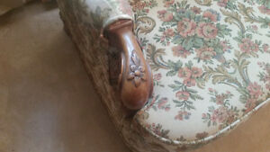 Vintage Sofa  - re-upholstered - excellent condition Peterborough Peterborough Area image 2