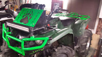 2012 Yamaha grizzly 700 eps with lots of extras