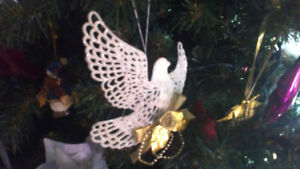 Looking for christmas dove ornaments once sold through CM home .