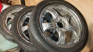 4(5 bolt)17 in alloys for $225 worth $1000.00 +