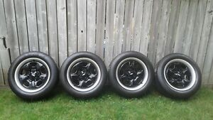 Camaro Rims with Trim Rings and Centres