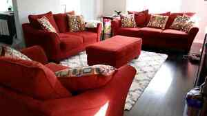Leons 4 piece couch Reduced* London Ontario image 2