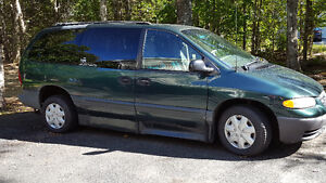 LOW KM 1996 Plymouth Voyager Wheelchair Van