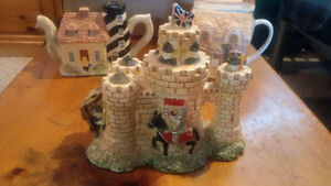 Collector Tea Pots from England