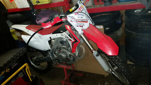 2013 crf450r with extras