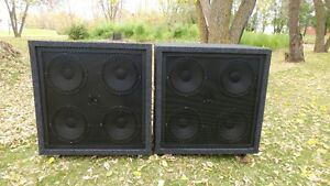 Two -412 PA Cabinets all New Eminence