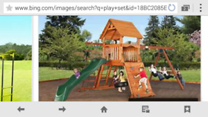 Looking for large kids play set structure