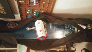 163 Salomon classic board boots bindings and bag