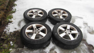 4 Aluminum Mazda 3 rims - $100