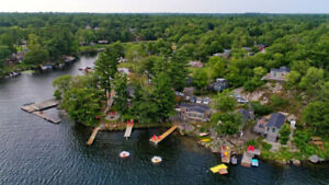 MUSKOKA Cottages For Rent From $125/Night | LANTERN BAY RESORT