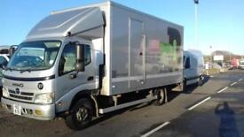 HINO 3815 SERIES 7.5TON BOX LORRY+TAIL LIFT