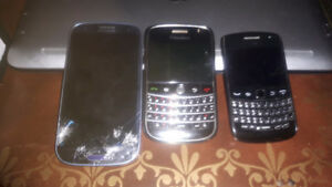 3 cell phones