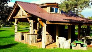 Custom DIY Cabins/Sheds/Entertainment Structures