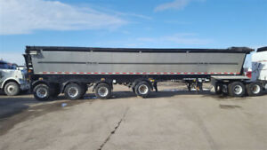 Trail King Red River 4 AXLE Live Bottom Trailer