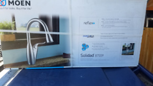 MOEN SOLIDAD PULL DOWN CHROME KITCHEN FAUCET