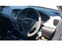 2016 Hyundai i20 1.2 S Air 5dr Manual Petrol Hatchback
