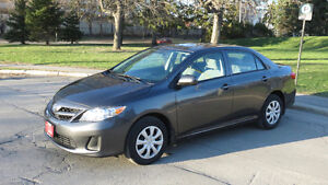 2013 Toyota Corolla CE,AlmostNEW,CarProof&Certificates available