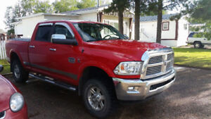 2012 Dodge 3500 Longhorn SRW to trade for a Dually