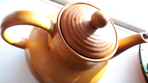 Vintage Myott Tea Pot Festival Brown Top Condition