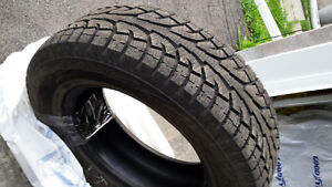 4 Winter tires without rims (included 2 almost new )