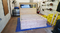 Custom Bed Frames And Head Boards