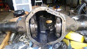 "67-72 Chev/ GMC rear Dana 44.  6 bolt hubs.  57"" flange- flange"
