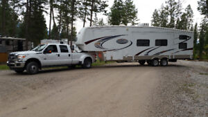 Towing, hauling trailers, boats, mobile homes, flat beds