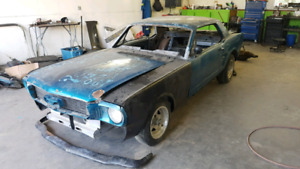 1966 Ford Mustang coupe project