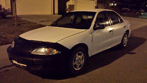 2002 Chevrolet Cavalier Sedan $ 1150 Or Best Offer