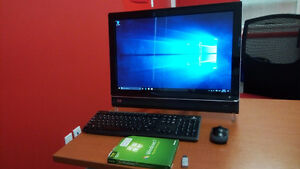"All in one HP IQ500 Touchsmart 22"" PC Cambridge Kitchener Area image 2"