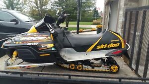 Fantastic 2002 MXZ Ski Doo for sale
