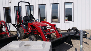 MAHINDRA EMAX S22HST WITH LOADER AND BACKHOE