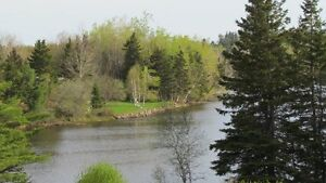 2Waterfront lots on the Little Bouctouche River (30 min Moncton)