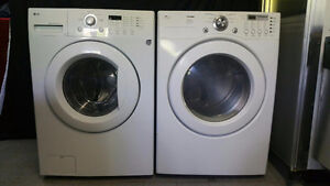 ENSEMBLE LAVEUSE SECHEUSE FRONTALE LG WASHER DRYER