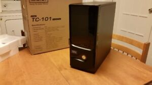 New Mid size tower computer case, Thermal-Master TC 101 - black