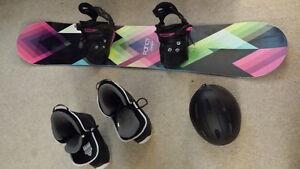 Like New Firefly Snowboard