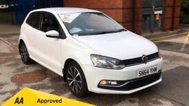 2014 Volkswagen Polo 1.0 SE Qualifies for Warranty4 Manual Petrol Hatchback