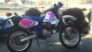 Looking for Suzuki DR350 parts