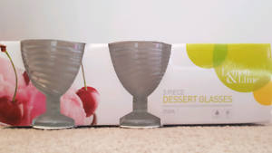 Dessert/ sundae glasses 250ml 3pk BRAND NEW Kyneton Macedon Ranges Preview