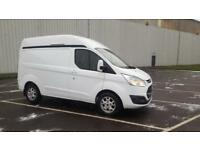 2014 14 PLATE Ford Transit Custom 2.2TDCi ( 125PS ) 310 L2H1 Limited HI-TOP