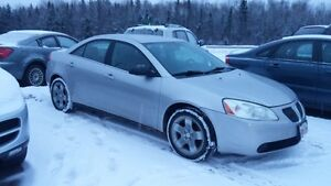 2007 PONTIAC G6 AUTOMATIC LOADED RUNS VERY WELL