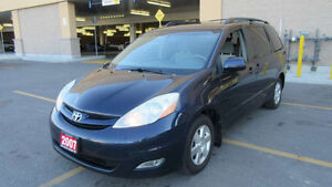 2007 Toyota Sienna LE, Low Km, Auto, 3 years warranty available