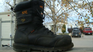 stc winter gortex size 8 work boots almost new