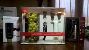 Wine stuff! New in box for gift giving