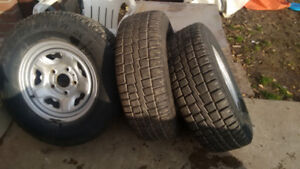 245 70r 16 winter tires and rims