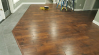 Installation of most types of flooring, tile, and backsplashes