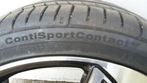 4 pneus 19 pouces haute performance neufs