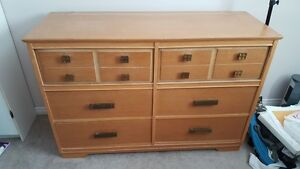 6 Drawer Oak Dresser