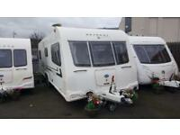 BAILEY RETREAT WILLOW ISLAND BED 2012 4 BERTH ***NOW IN STOCK***
